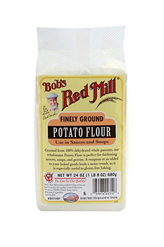 Red Potato (Bobs Red Mill Flour Gluten Free Potato, 24 Oz, Pack of 1)