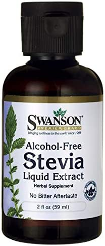 Swanson Liquid Stevia Alcohol Free 2 fl Ounce 59 ml Liquid