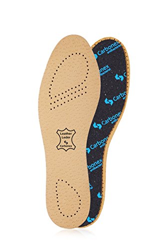 Kaps Insoles for Men & Women - Shoe Inserts w/Anti-Bacterial Pecari Carbonex & Odor Control (M11 US)