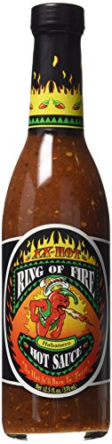 Ring of Fire XX-hot Habanero Hot Sauce (Rings Sale For Fire)