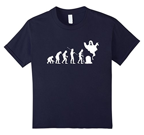 Kids Evolution Ghost. Funny Tshirt Gift For Activities Halloween 12 (Halloween Ideads)