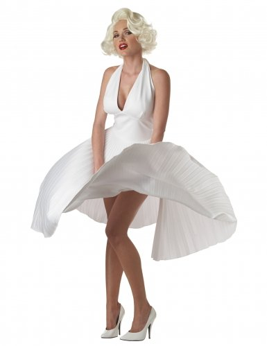 Deluxe Marilyn Monroe Adult Costume - X-Large]()