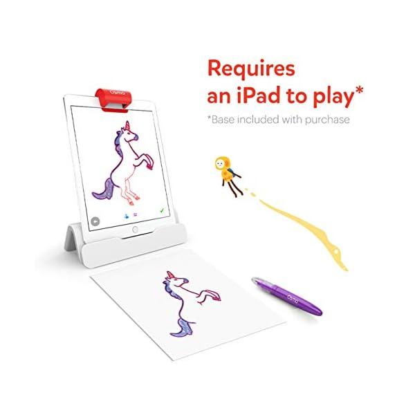 Osmo – Base – 2 giochi di apprendimento mani – disegno creativo e risoluzione dei problemi – fisica precoce – bianco/rosso 2 spesavip