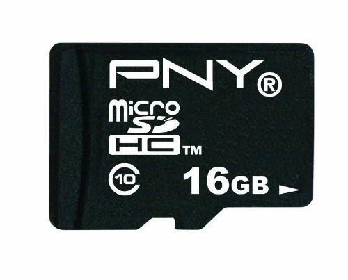 PNY 16 GB microSDHC Flash Memory Card (P-SDU16G10TEFM1)