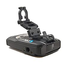 BlendMount R Series Aluminum Radar Detector Mount for Escort MAX 360/MAX2/MAX/GT-7 - Compatible with Most Domestic and Japanese Vehicles - Made in USA - Looks Factory Installed