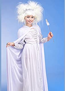 Childrens Size White Snow Queen Costume Small (3-5yrs)  sc 1 st  Amazon UK & Kids The White Witch Narnia Style Costume Small (3-5yrs): Amazon.co ...