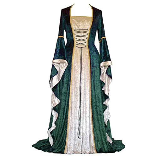 CosplayDiy Women's Medieval Renaissance Retro Gown Cosplay