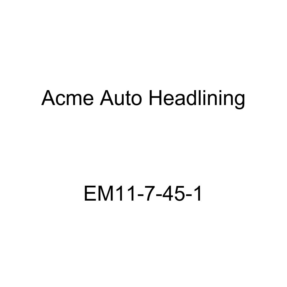 Acme Auto Headlining EM11-7-45-1 Gray Replacement Headliner 1940 Buick Series 40 2 Door Coupe - 5 Bows