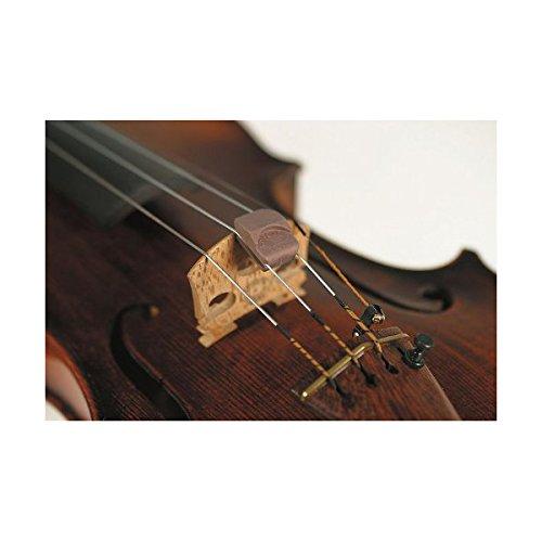 Super Sensitive Violin Mute Fred Spector Design Color Black SS9493