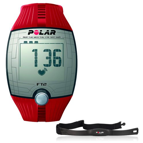 Polar FT2 Heart Rate Monitor (Polar Red Heart Rate Monitor)
