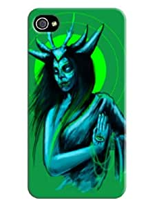 Hot Sell DIY Vampire Tpu Mobile Phone Iphone 4/4s Case/cover/shell with Sincere (Green)