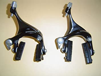 8a66aba0763 Image Unavailable. Image not available for. Colour: Shimano BR/R561 Road  Bike Road Brakes Brakes Set Black New