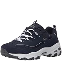 Sport Womens DLites Memory Foam Lace-up Sneaker,Me Time Navy/