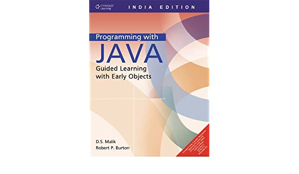 programming with java guided learning with early objects malik rh amazon com