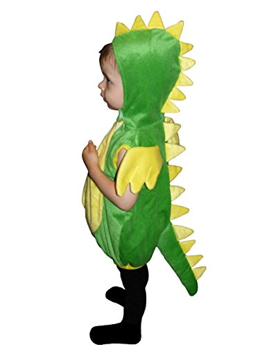 [Fantasy World Boys/Girls Dragon Halloween Costume, Size 5, F82] (Funny Ideas For Girl Halloween Costumes)