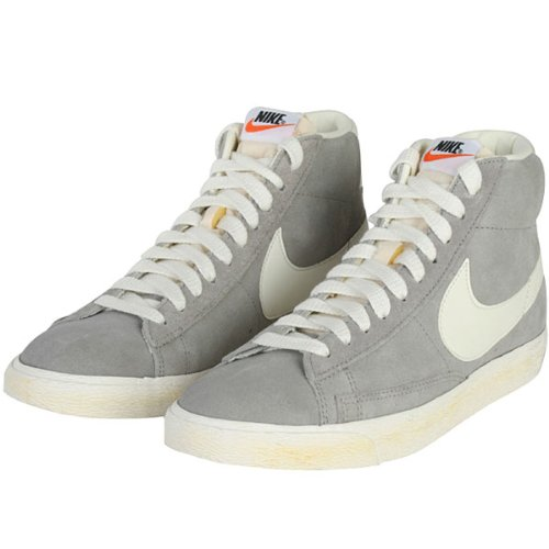 nike blazer high beige
