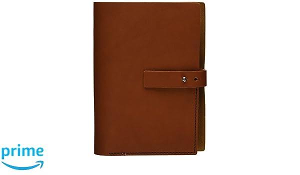 Makro Paper M5-HN - Agenda de piel pequeña, marrón claro ...