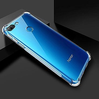 buy online 2413a dc858 Bracevor Flexible Shockproof TPU | Cushioned Edges Design Back Case Cover  Honor 9 Lite - Transparent