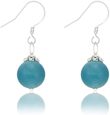 Premium quality grey agate earrings