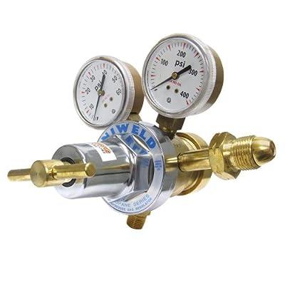 Uniweld RHT8012 Medium/Heavy Duty Two Stage LPG/All Fuel Gas Regulator with CGA510 Inlet