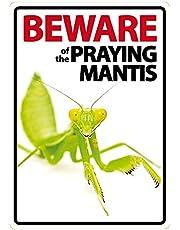 Pas op voor het bidden Mantis A5 teken