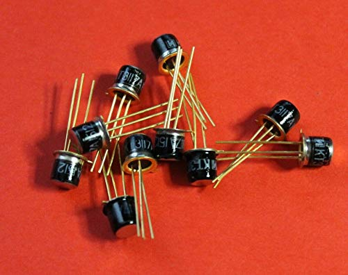 Transistor silicon military KT3117A (2T3117A) analogue 2N2121, 2N2221 USSR 2 pcs