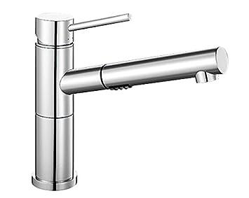 Küchenarmaturen mit schlauchbrause  Blanco Alta-S Compact Vario Umschaltbare Küchenarmatur/Kompakter ...