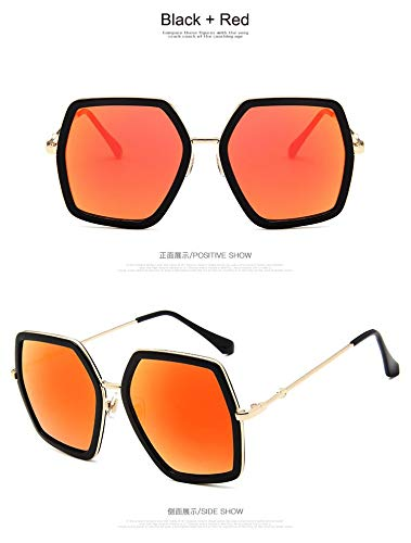 829a32ddfd37 Image Unavailable. Image not available for. Color: Square Luxury Sun  Glasses Ladies Oversized Crystal Sunglasses Women Big Frame Mirror for Female  UV400