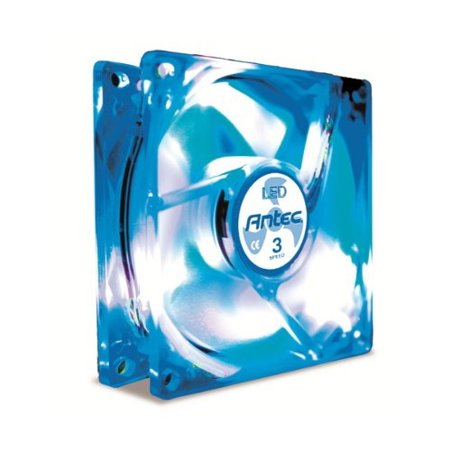 Antec TriCool 80mm LED CPU Cooling Fan Clear 75020
