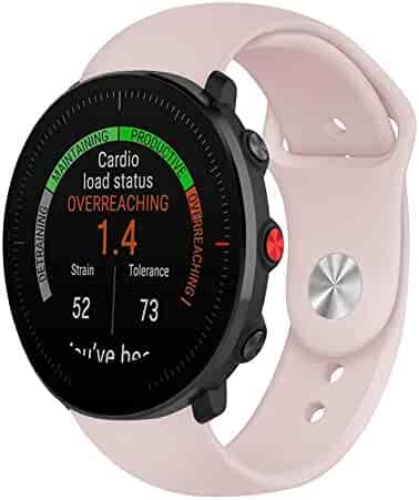 VOVI Replacement Bands for Polar Vantage M,Soft Silicone Strap Compatible Boneng Polar Vantage M Smartwatch(Colorful Silicone Watch Band)