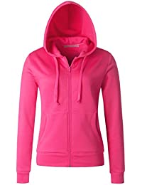 Womens Full Zip Front Benton Fleece Jacket (16 Colors/2 Fabrics/S-