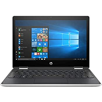 "HP - Pavilion x360 2-in-1 11.6"" Touch-Screen Laptop - Intel Pentium - 4GB Memory - 128GB Solid State Drive - Ash Silver Keyboard Frame, Natural Silver"