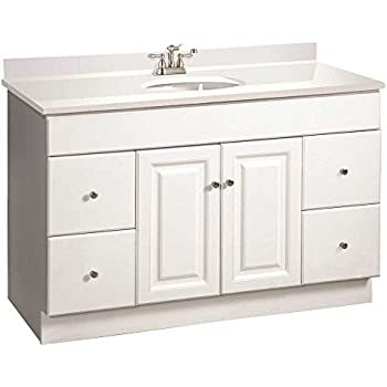 Rsi Home Products Cbhwh48d Fully Assembled Vanity With