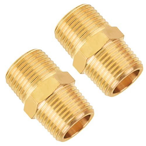 SUNGATOR Brass Pipe Fitting, 3/8