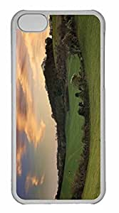 iPhone 5C Case, Personalized Custom Countryside for iPhone 5C PC Clear Case