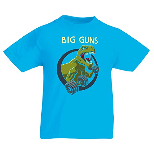 funny-t-shirts-for-kids-train-hard-5-6-years-light-blue-multi-color