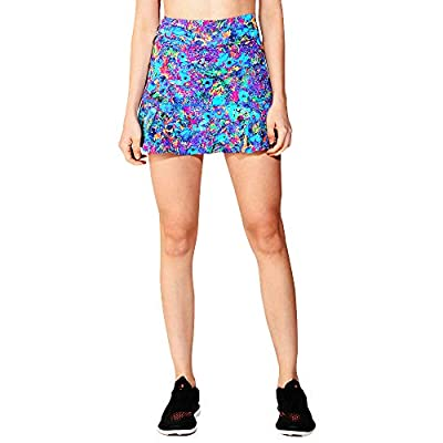Dona Jo Official JoJo Skirt with deep Side Pockets for Storage and Made with Light 5-Way Stretch Material at Women's Clothing store