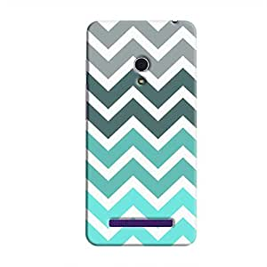 Cover It Up - Jagged Blue&Gray Zenfone 5Hard Case