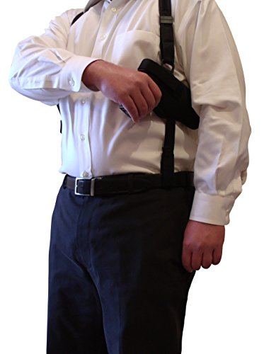 (King Holster Tactical Shoulder Holster fits Walther Creed | PPQ 9/40/45 | P99 9/40 | PPX 9/40)