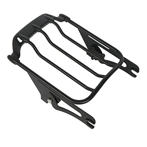 XMT-MOTO Black Air Wing Two Up Luggage Rack For Harley HD Touring Street Glide 2009-2018 by XMT-MOTO (Image #4)