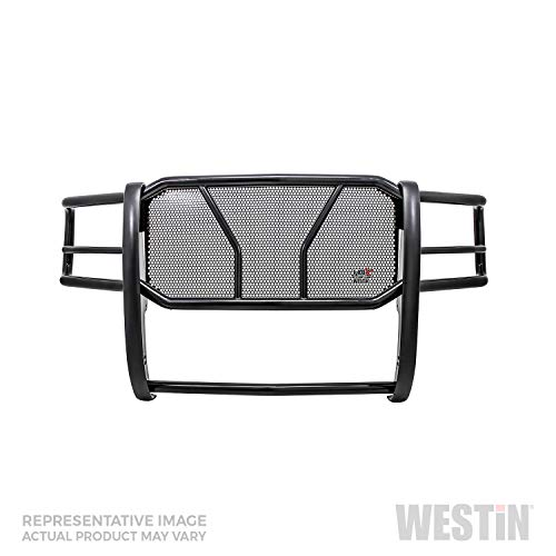 (Westin 57-3885 Black HDX Grille Guard for Toyota Tacoma 2016-2018)