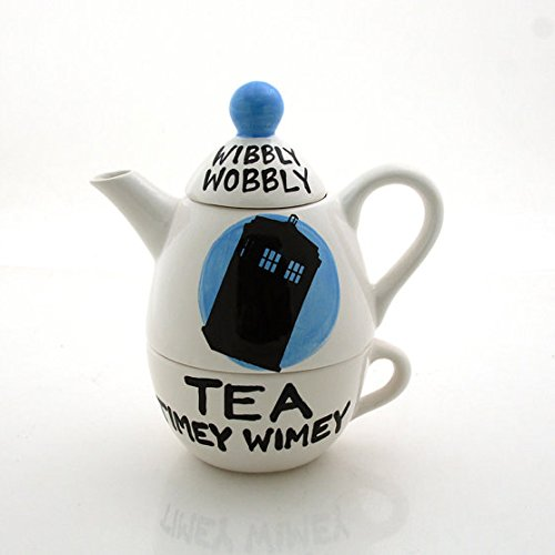 Dr. Who Wibbly Wobbly Tea for One
