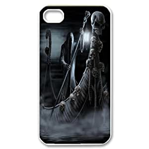 Skull and skeleton High Quality Pattern Hard Case Cover for For Iphone Case 4,4S color14