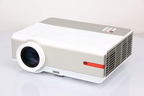 FR S90 1080P 5000 lúmenes Full HD 10000: 1 LED Proyector LCD ...