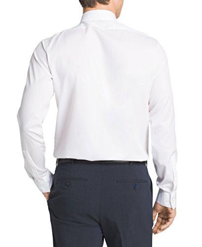 Free shipping calvin klein mens slim fit non iron for White herringbone dress shirt