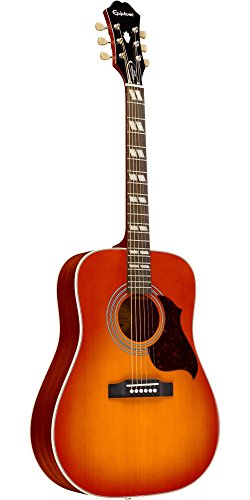 Epiphone Hummingbird Artist Acoustic Guitar Faded Cherry Sunburst