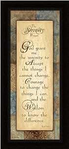 Serenity Prayer - Framed Art Print