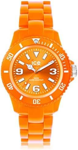 Icewatch Kids' ICEWATCH-SD-OE-S-P-12 Solid Orange Plastic Watch