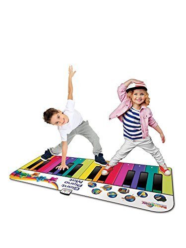 RAINBOW COLOURS Fun Giant Piano Mat for Kids by RAINBOW COLOURS