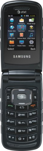 Samsung Rugby II, Black (AT&T) by Samsung (Image #2)